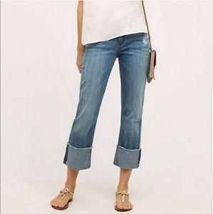 Anthropologie Pilcro Hyphen Cuffed Hem Jeans 846